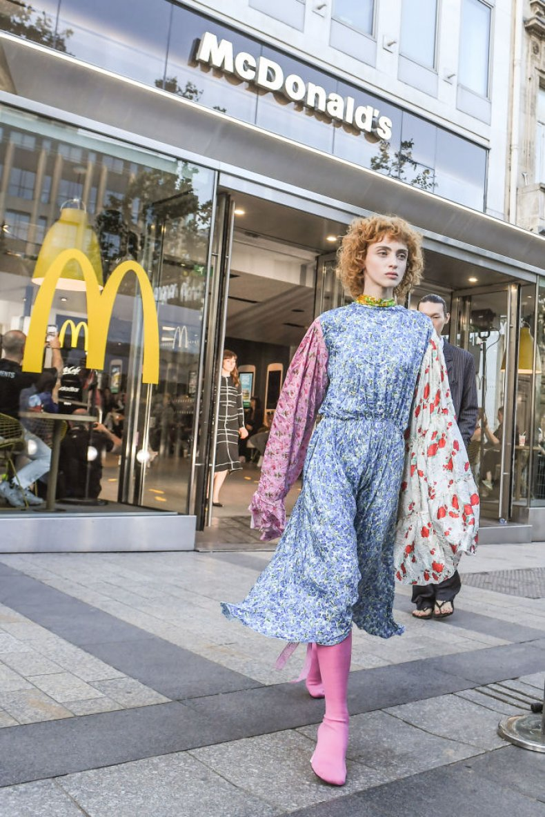 paris fashion week mcdonalds vetement