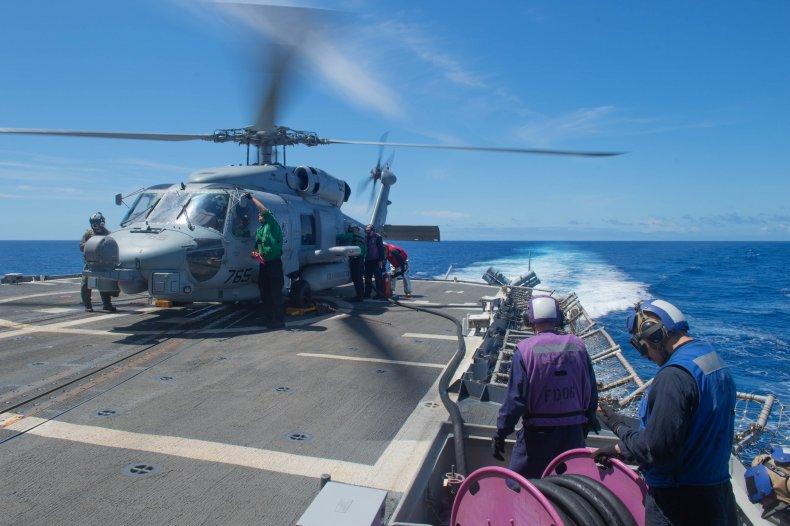 us navy strike group iran