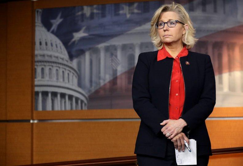 Liz Cheney Slaves AOC