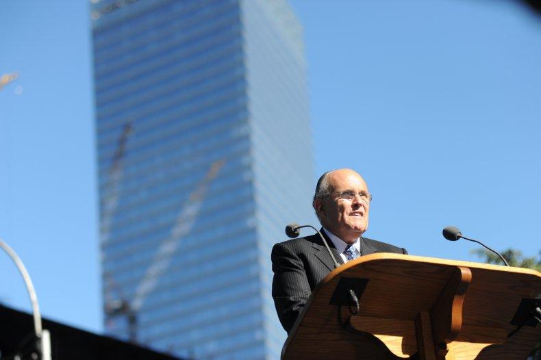 Rudy Giuliani 9/11 John Stewart