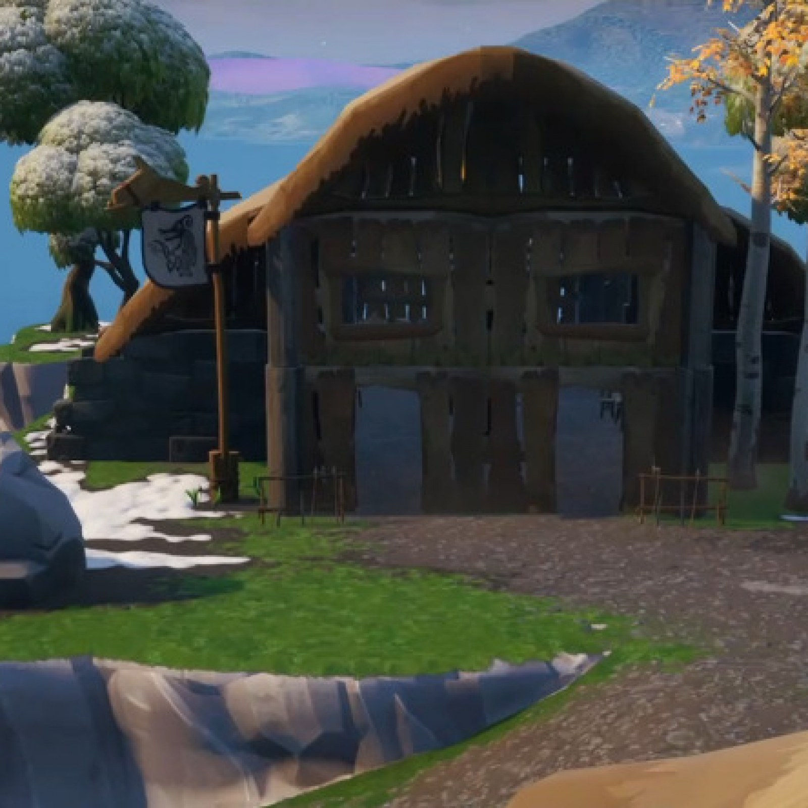 Fortnite Fortbyte 98 Location Found Within A Viking
