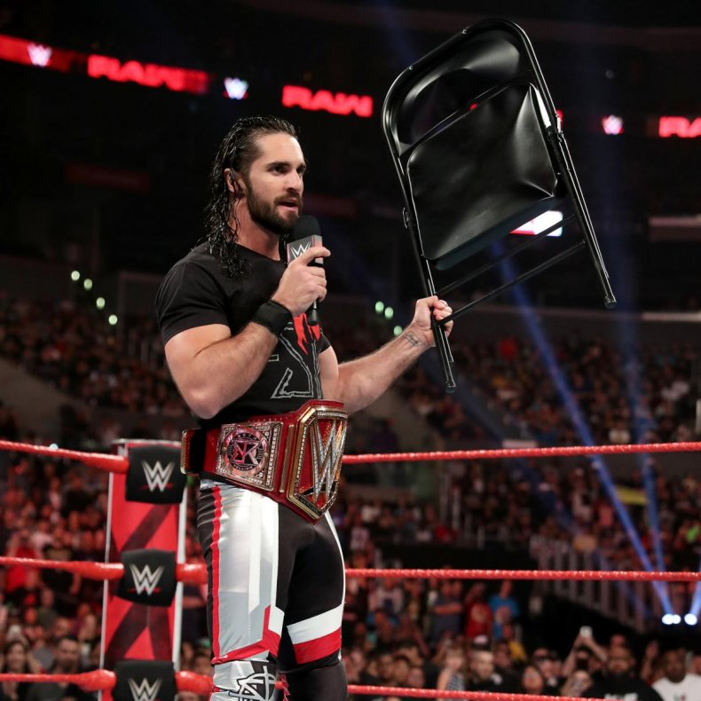 wwe stomping grounds live results seth rollins
