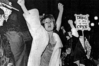 Screaming Queens before stonewall Compton's Cafeteria riot