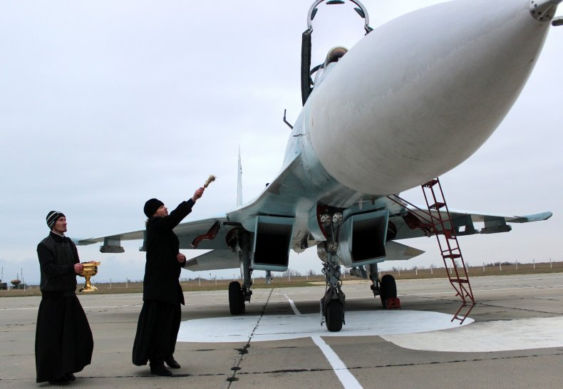 Russia, priests, bless, MWDs, weapons, military