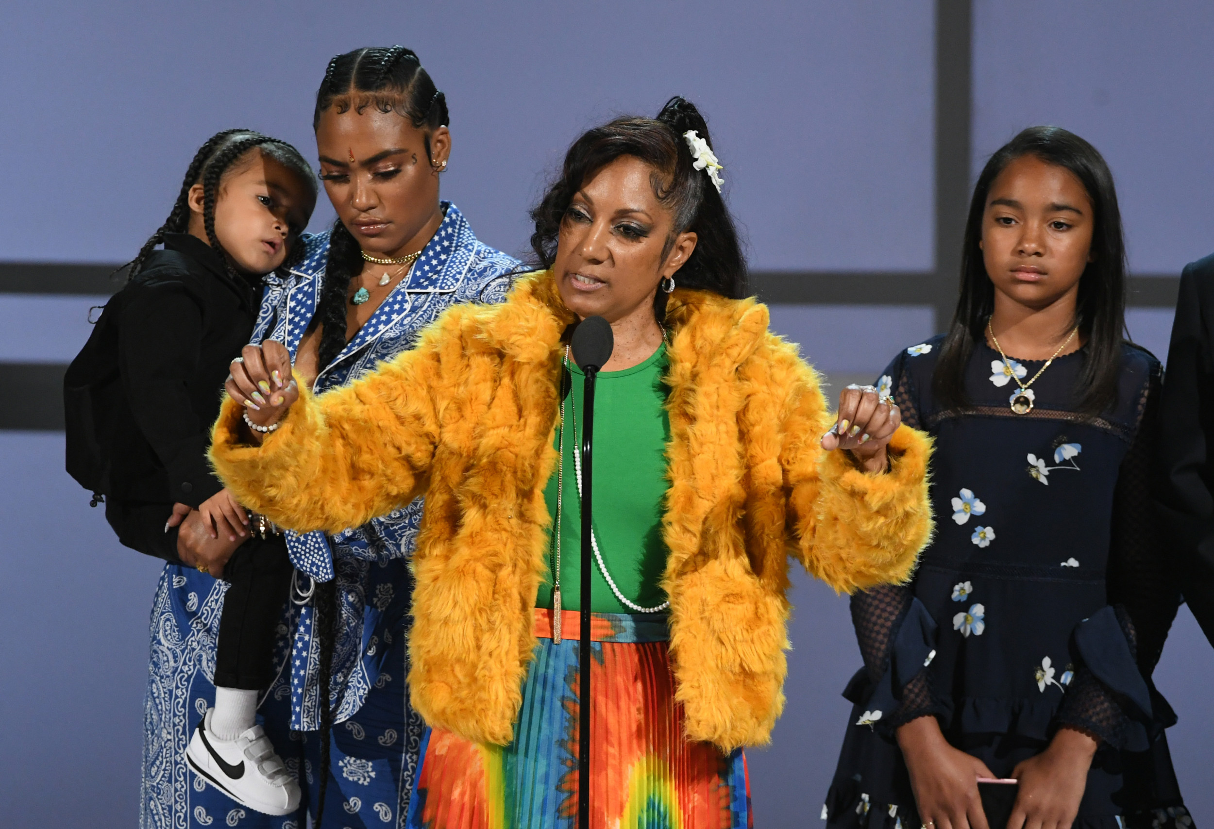 BET Awards: Watch Nipsey Hussle's Mother Pay Tribute to Late Rapper