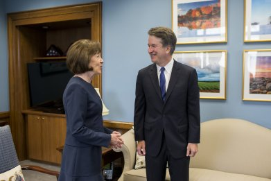 Democrat Challenges Susan Collins, Cites Kavanaugh Vote