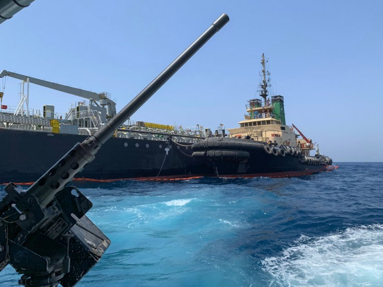 gulf oman attack oil navy
