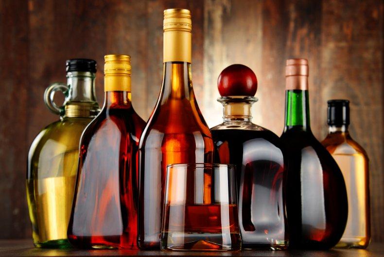bottles fake liquor