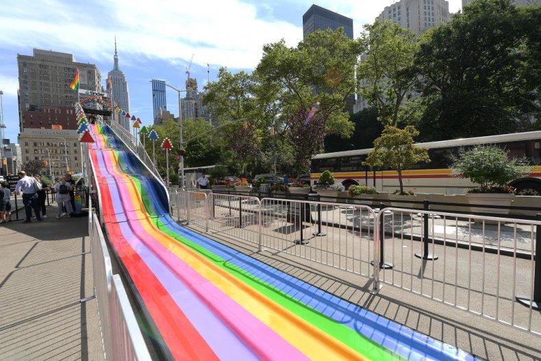 Pride Slide Tinder