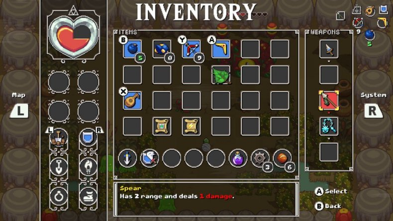 cadence of hyrule inventory review