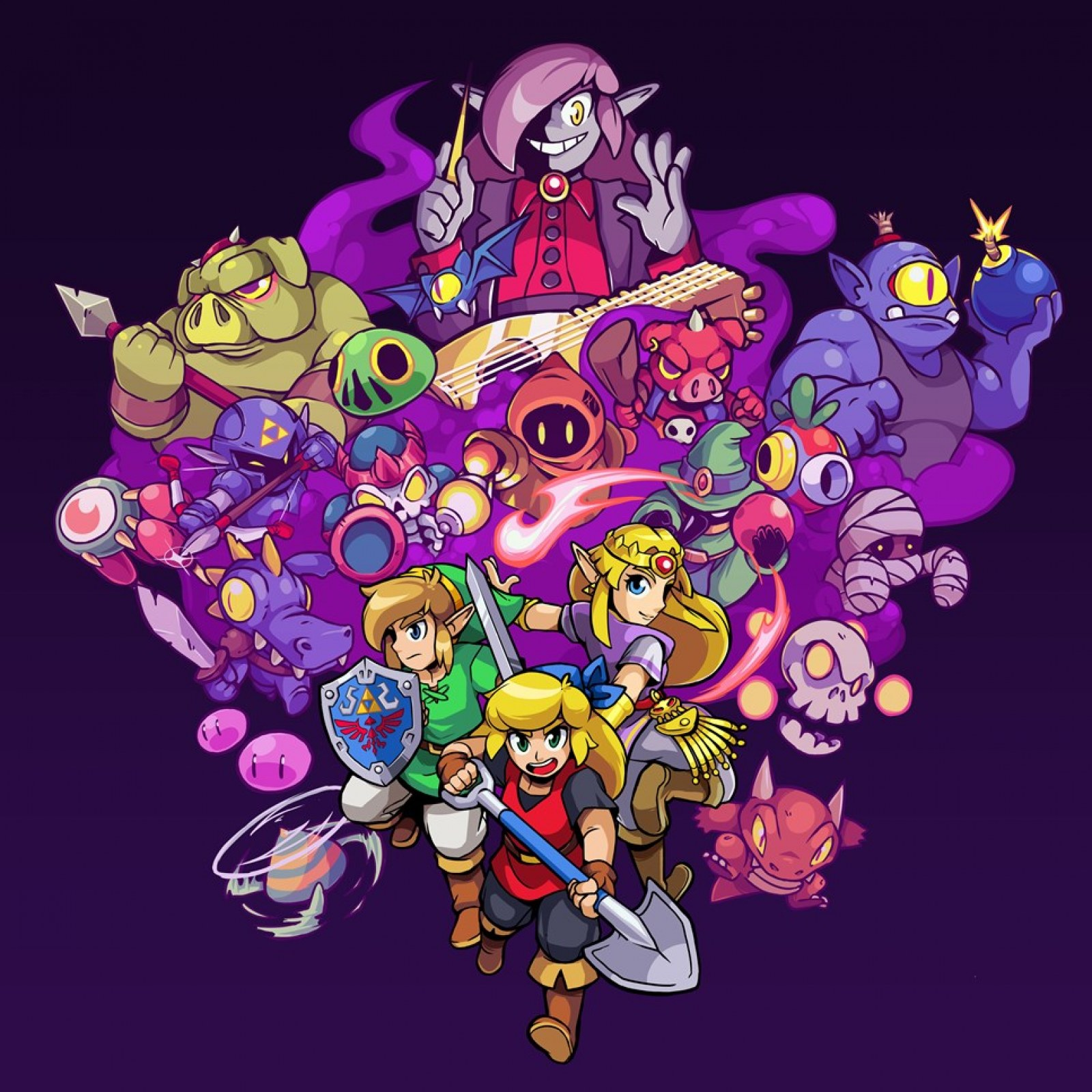 Cadence Of Hyrule Review Inspired And Fun Mashup That Feels Like