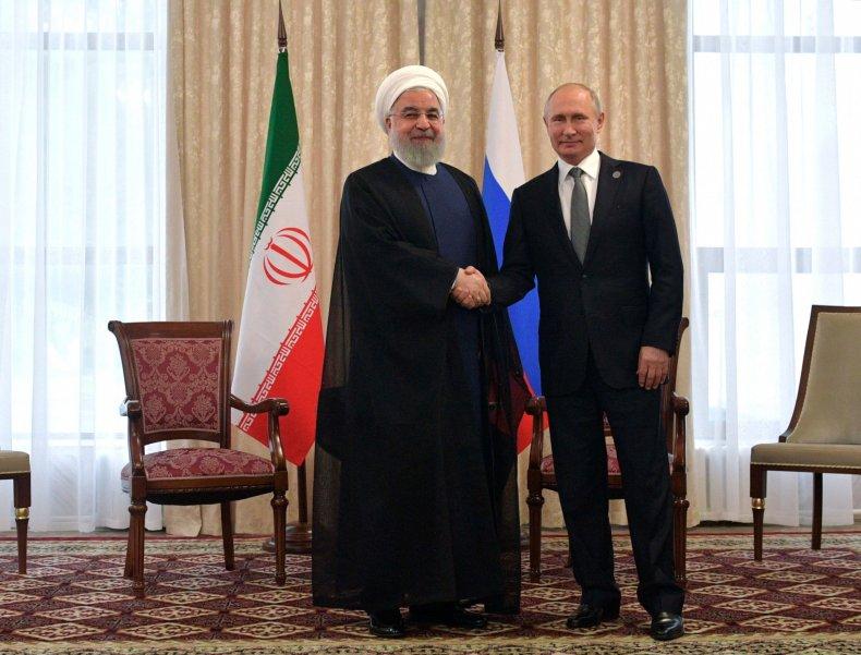 russia iran putin rouhani relations