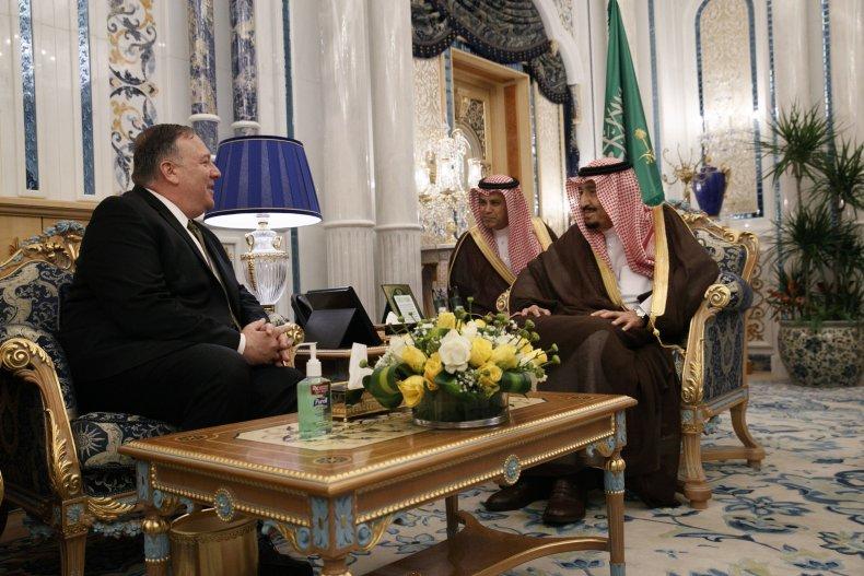 pompeo saudi arabia iran mideast