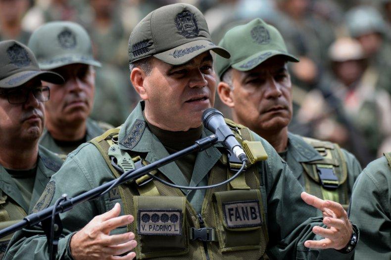 Vladimir Padrino Lopez, Avengers, coup, Venezuela