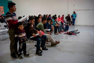 migrant children CBP custody southern border