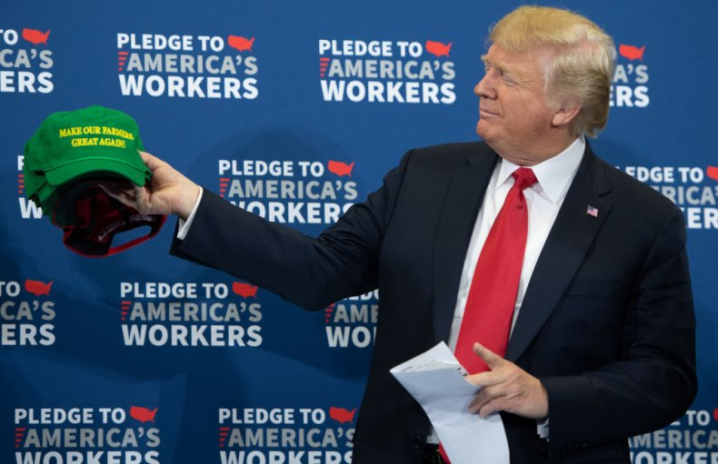 Donald Trump at Iowa event