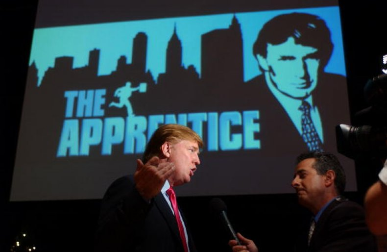 donald trump the apprentice n-word