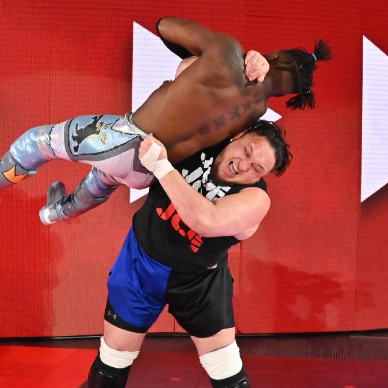 Image result for Samoa Joe Backstage Attacks