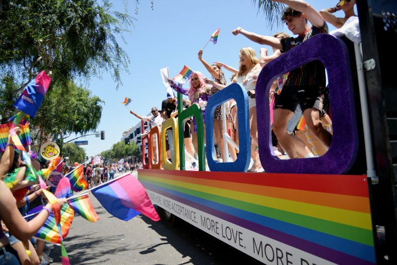 Pride Parade Hollywood