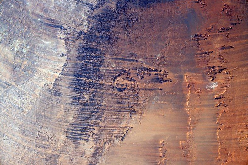 Aorounga impact crater
