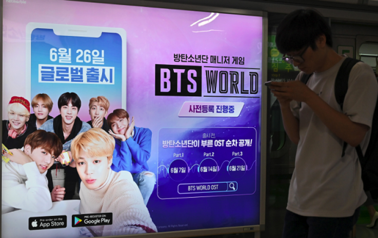 BTS World' Mobile Game Appears on Android Before iPhone, Prompting