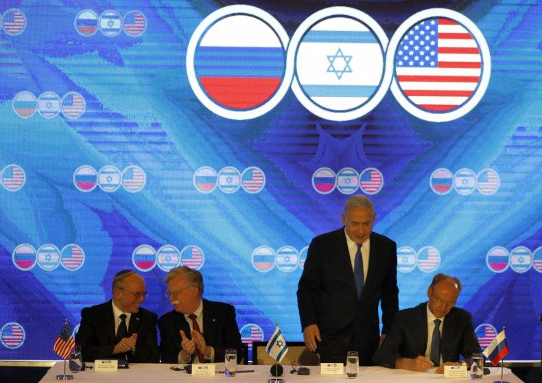 us russia israel iran jerusalem