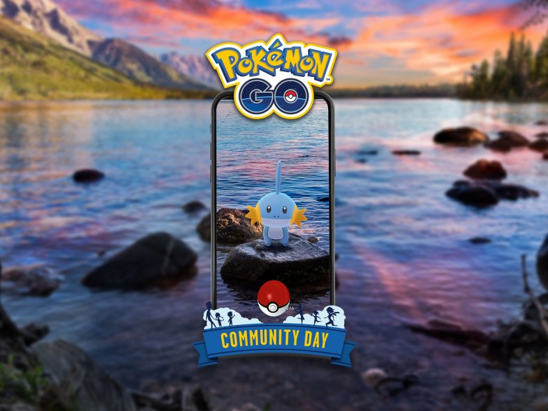 pokemon go mudkip community day event