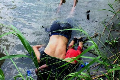 drowned migrants