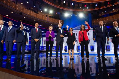 democratic debates stage night one