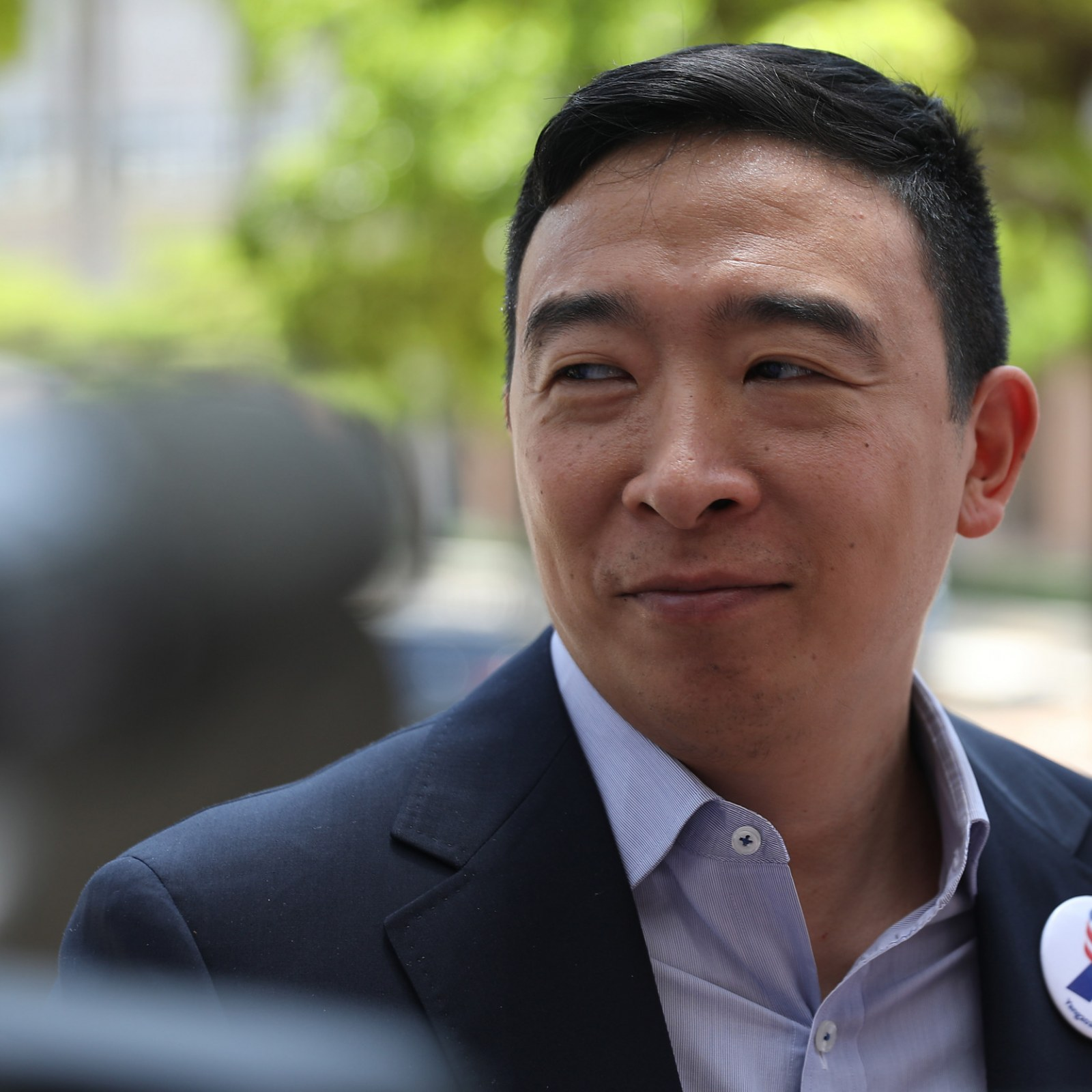 Andrew Kwong who is andrew yang? 'asian man standing next to joe biden