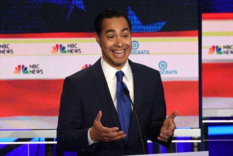 Julian Castro Democratic Debate