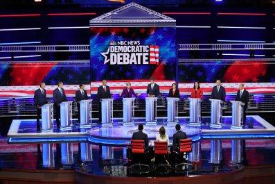 democratic debate biggest winners/losers