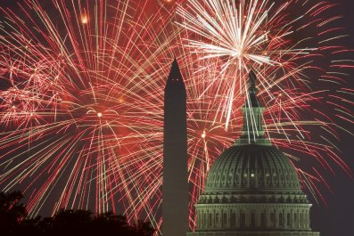 Washington Fourth of July Fireworks Trump