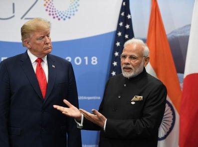 Donald Trump Modi India trade war tariffs