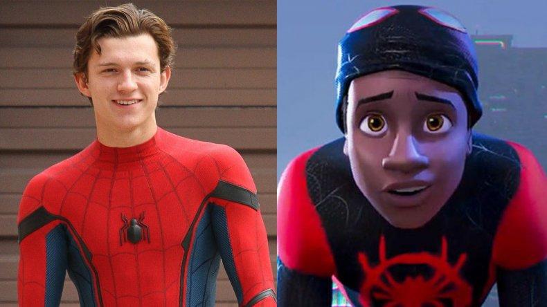 Spider-Man Tom Holland Miles Morales