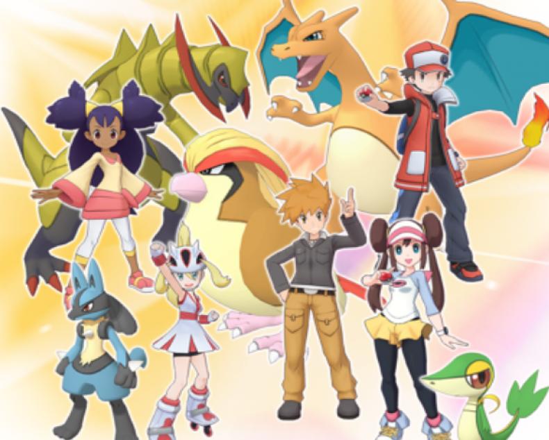 pokemon masters sync pairs list