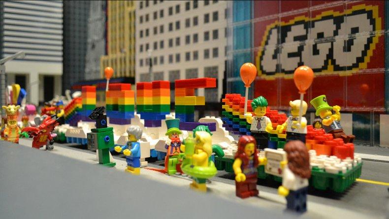 Lego Pride parade