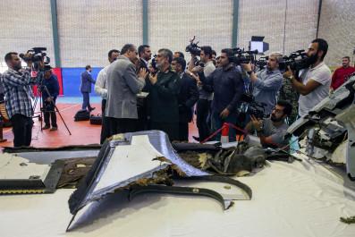 iran drone revolutionary guards