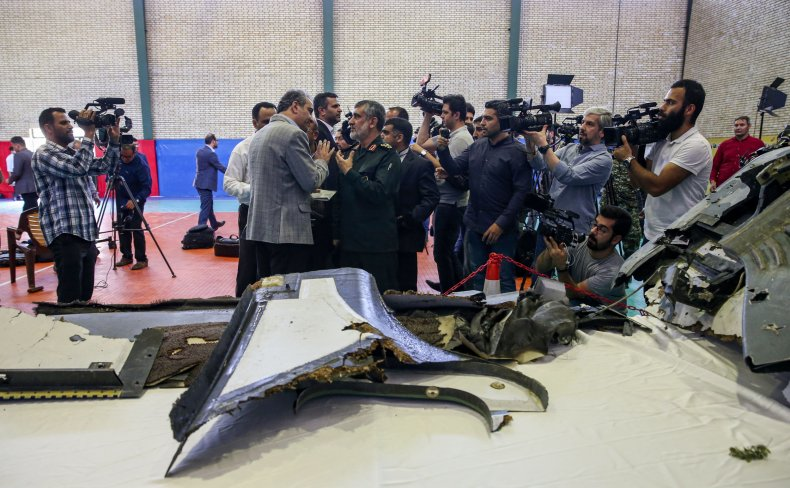 iran drone revolutionary guards