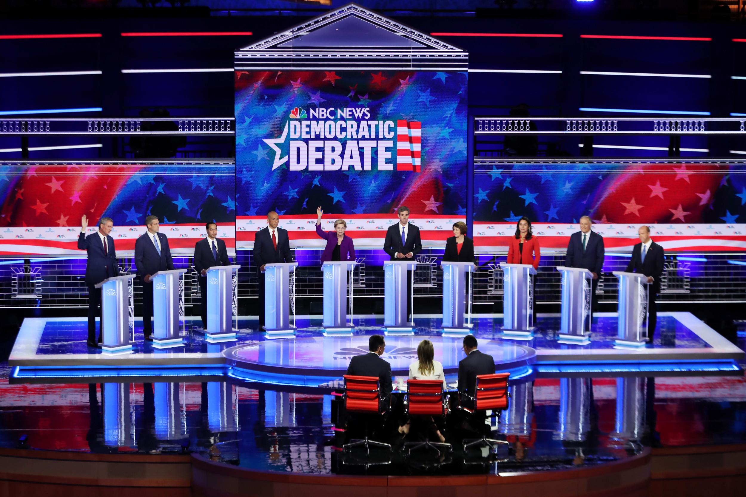 Democratic debate wednesday