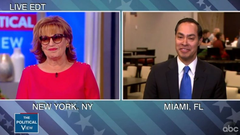 julian castro joy behar civil