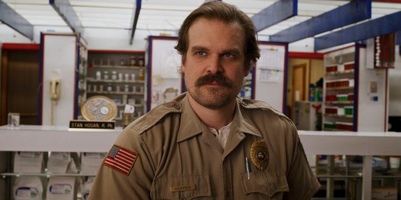 Chief Hopper, Stranger Things