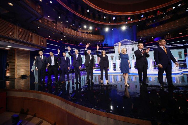 democratic debate night 2