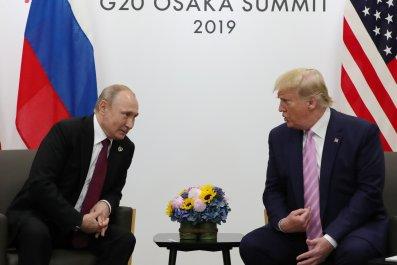 Donald Trump Russia Putin G20 Osaka Japan