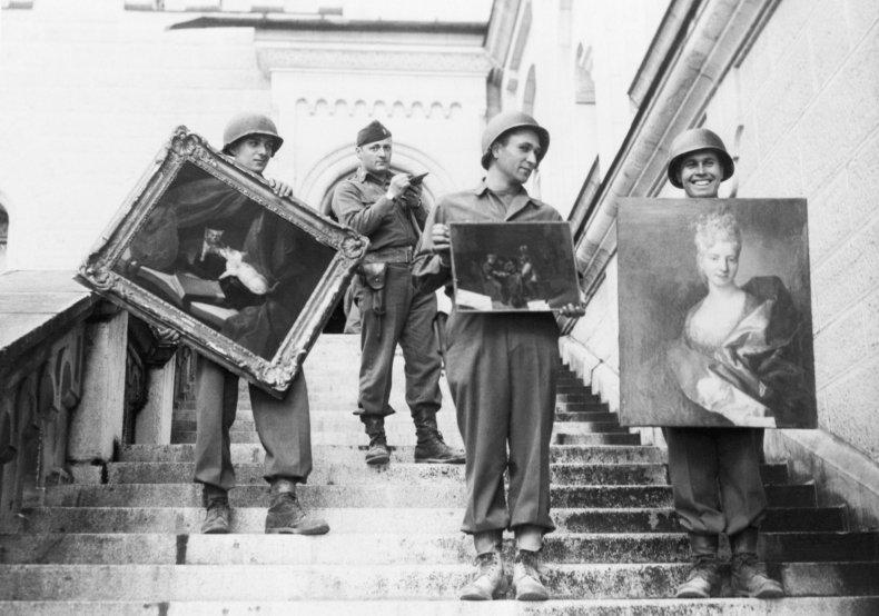 Nazi looted art WWII