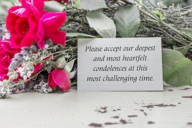 Resignation, Condolence Card