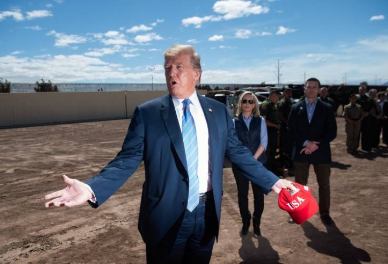 Donald Trump-Border wall