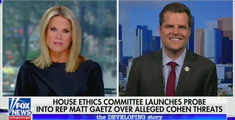 Matt Gaetz Dismisses Investigation