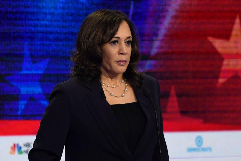 Senator for California Kamala Harris
