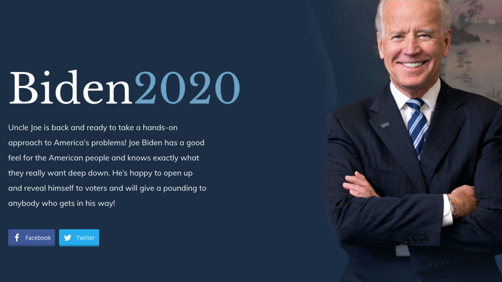 Fake Biden Campaign Website Being Run Secretly By Trump Campaign Operative Report